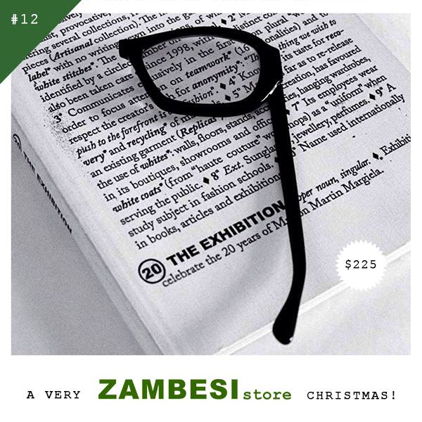 "#12 selected by Dan Ahwa!  ""It looks good but is also practical, perfect for checking proofs.""  The Maison Margiela Lunette Magnifier is available in all ZAMBESI stores x"