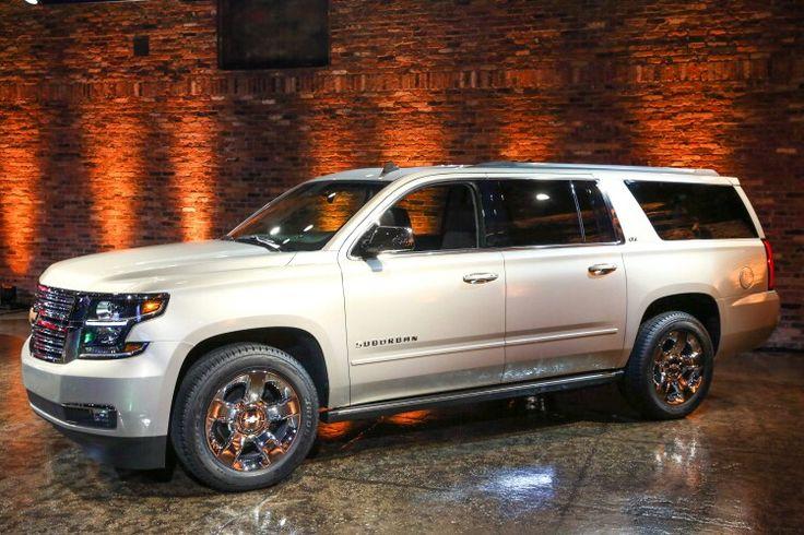 2015 Chevrolet Suburban LTZ in White Diamond Tri-Coat | Cars Trucks & SUV's | Pinterest ...