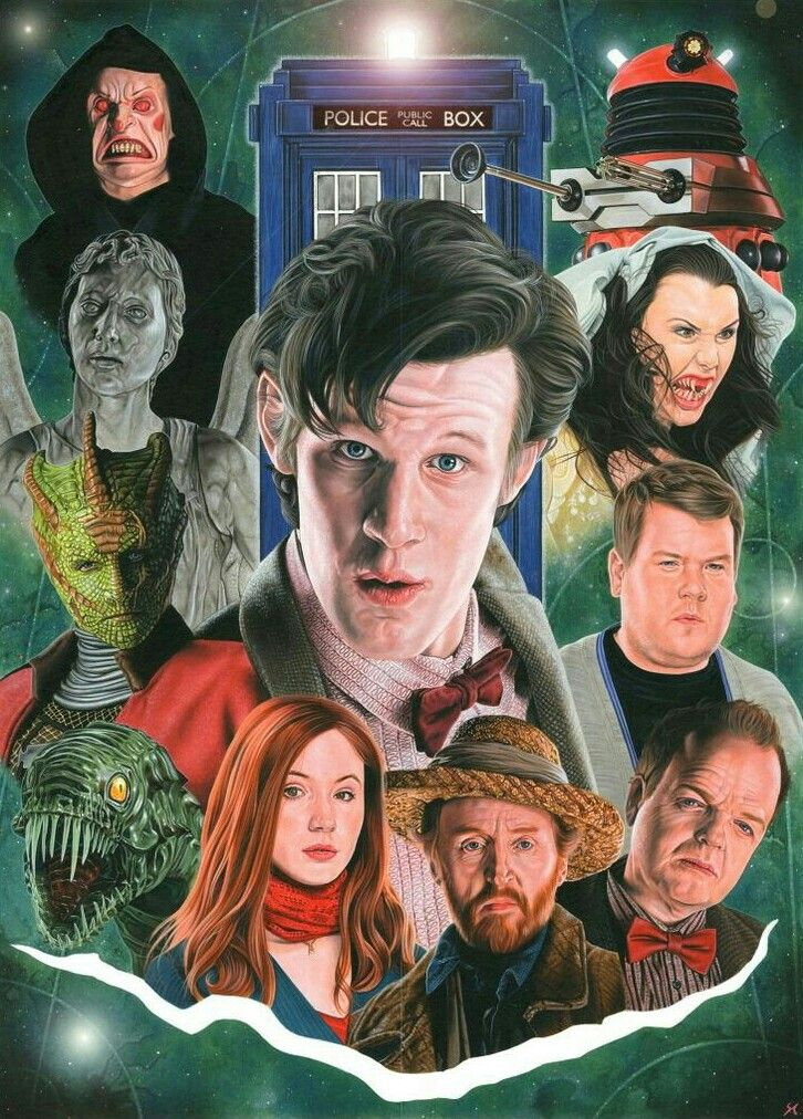 DOCTOR 11 COMPANIONS AND ENEMIES