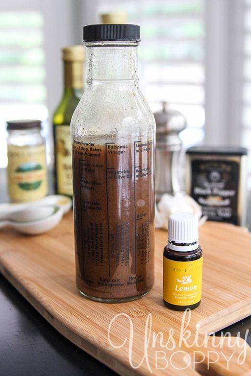 Lemon Balsamic Vinaigrette Recipe