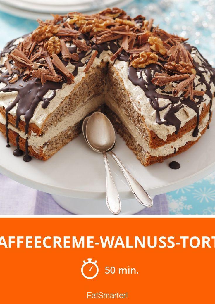 Kaffeecreme-Walnuss-Torte