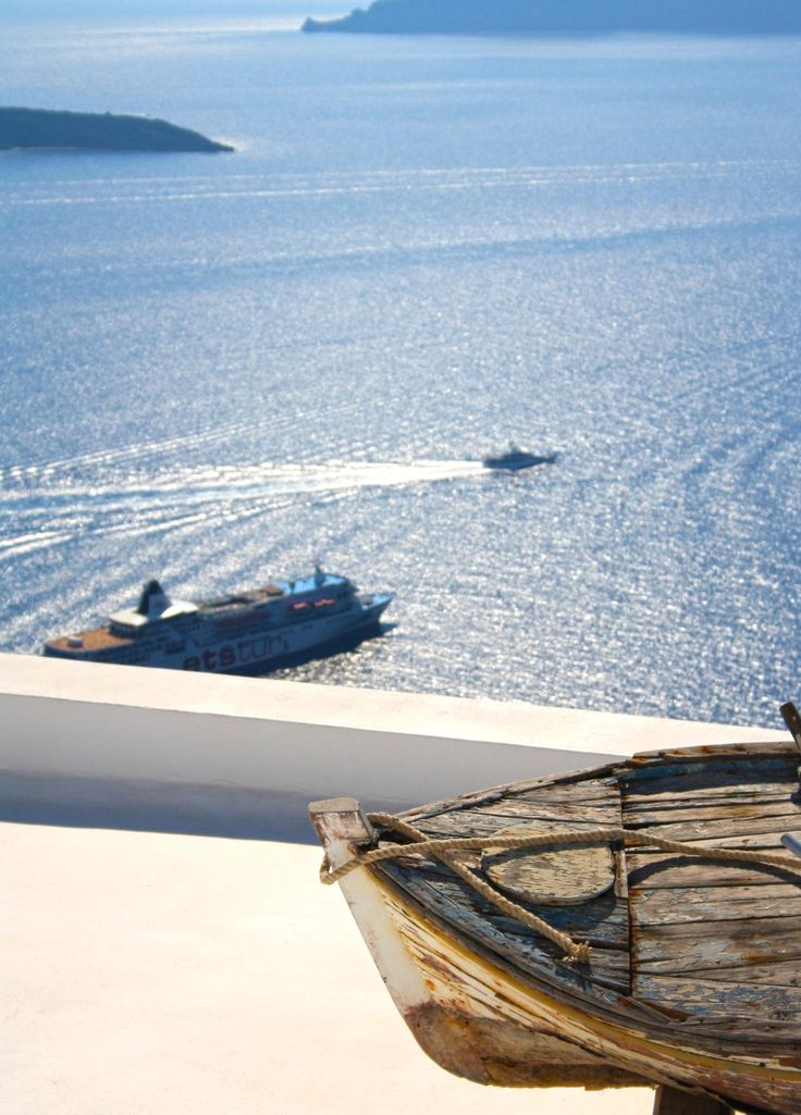 Photo Now & then by Vag Ant on 500px #Greece #Santorini #2DesignPhotography