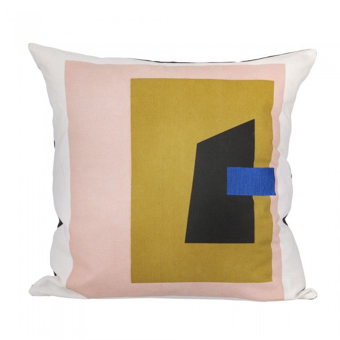 Give your home a fresh and current rating through this series of graphics FRAGMENT cushions. Four colored compositions are available to dress your chairs, sofas and beds. Decoration and design furniture in Paris.
