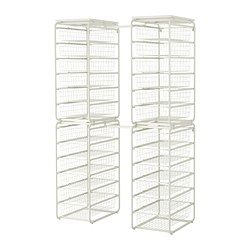Sistemul ALGOT - Soluţii pentru depozitare secundară - IKEA