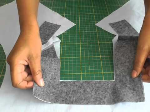 Cutting and Sewing Square Necklines.  A FREE article, guide and fashion sewing video tutorial, only at http://www.fashionsewingblog.com