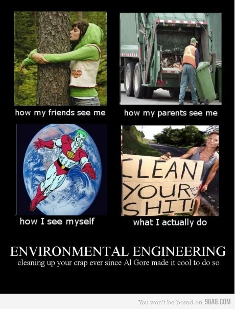 I'm an Environmental Engineer