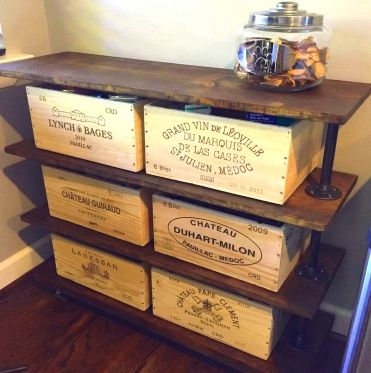 Decorate your home with genuine wooden wine crates & wine boxes! Easily add a fresh new look to your wine room or wet bar with the world's finest vineyards