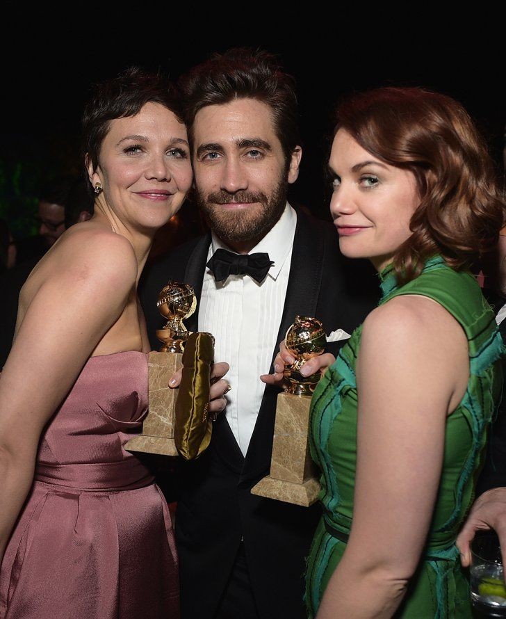 Pin for Later: Maggie and Jake Gyllenhaal Had the Cutest Sibling Date Night at the Golden Globes