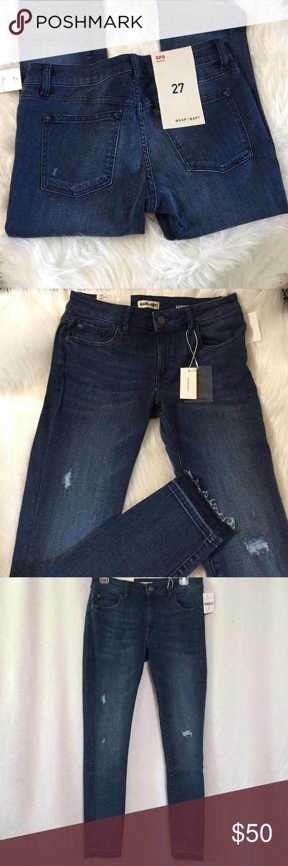 Warp + Weft SFO Skinny Jeans Sz 27 NWT WARP + WEFT…