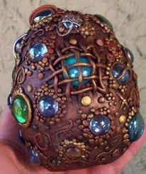 Gorgeous dragon's egg.