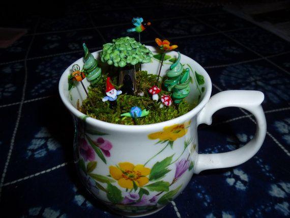 14 Best Garden Cups Images On Pinterest Fairies Garden Miniature Gardens And Fairy Gardening