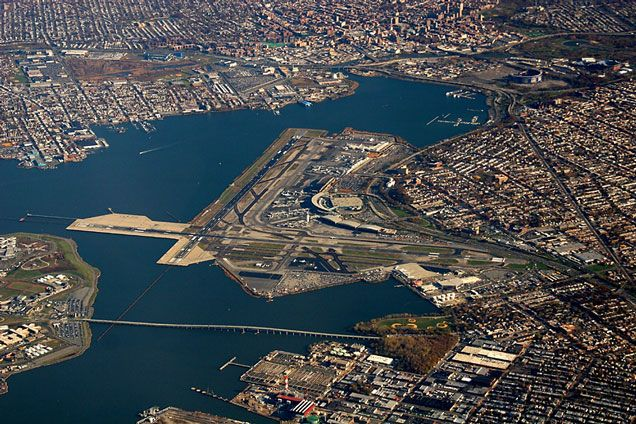 LaGuardia International Queens, NYC (LGA) - arrived in this airport once when my jet (US or DL forget which) was re-routed from JFK. I will never fly in/out of this airport again. Grrr