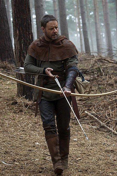Robin Hood || Russell Crowe (I think he spells Russell differently but spell check says its this way :P)