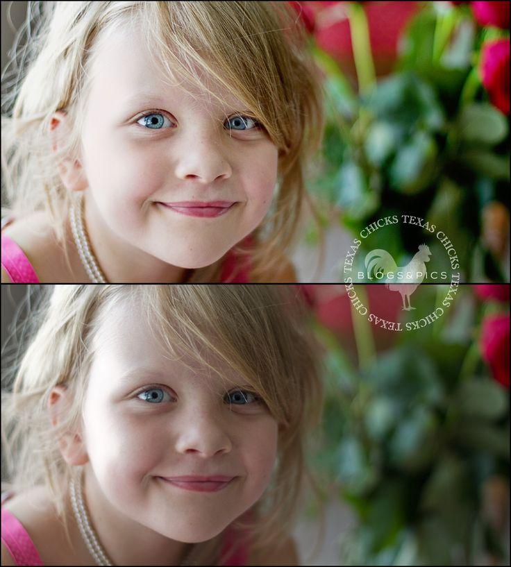 Advanced portrait retouching