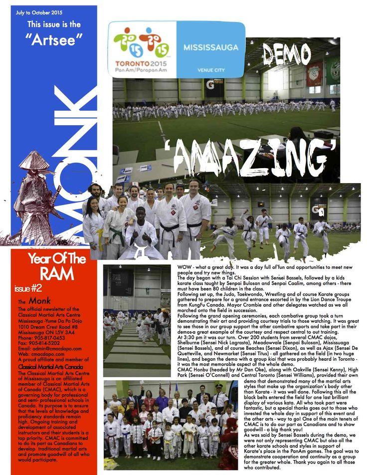 The Monk Newsletter - 2015 Issue 2 - Read full newsletter at http://www.cmacdapo.com/newsletters/newsletter-2015-02.pdf