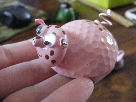 85 Best Golf Ball And Bowling Ball Projects Images On For Golf Ball Craft  Project