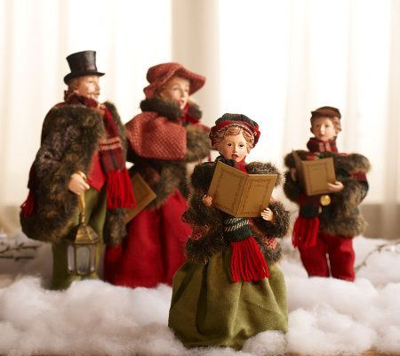 Christmas Carolers Figurines