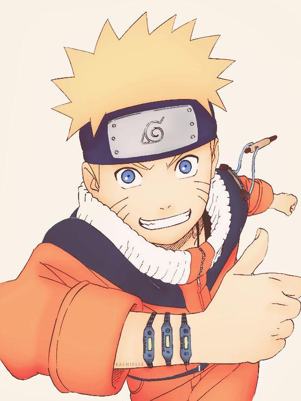 "Naruto e o seu ""International Smile"""