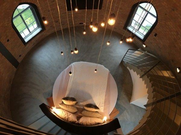 kurios Übernachten im alten Wasserturm Bad Saarow