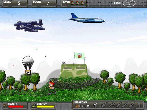 Invasión Aérea Online
