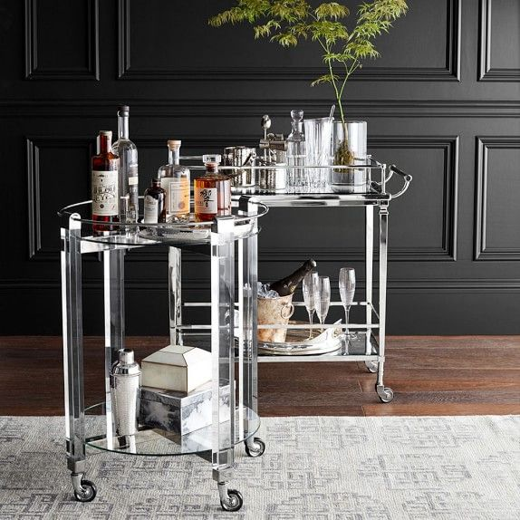 Essentials for a Dapper Bar Cart