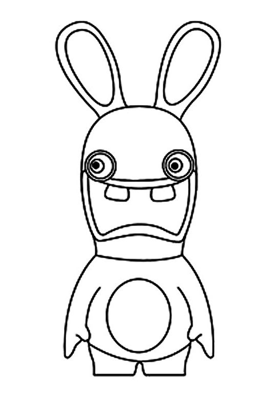 10 Aimable Coloriage Lapin Cretin Pics Coloriage Lapin Lapin Cretin Dessin Lapin Cretin