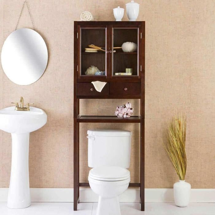 Bathroom Furniture Over The Toilet Cabinet