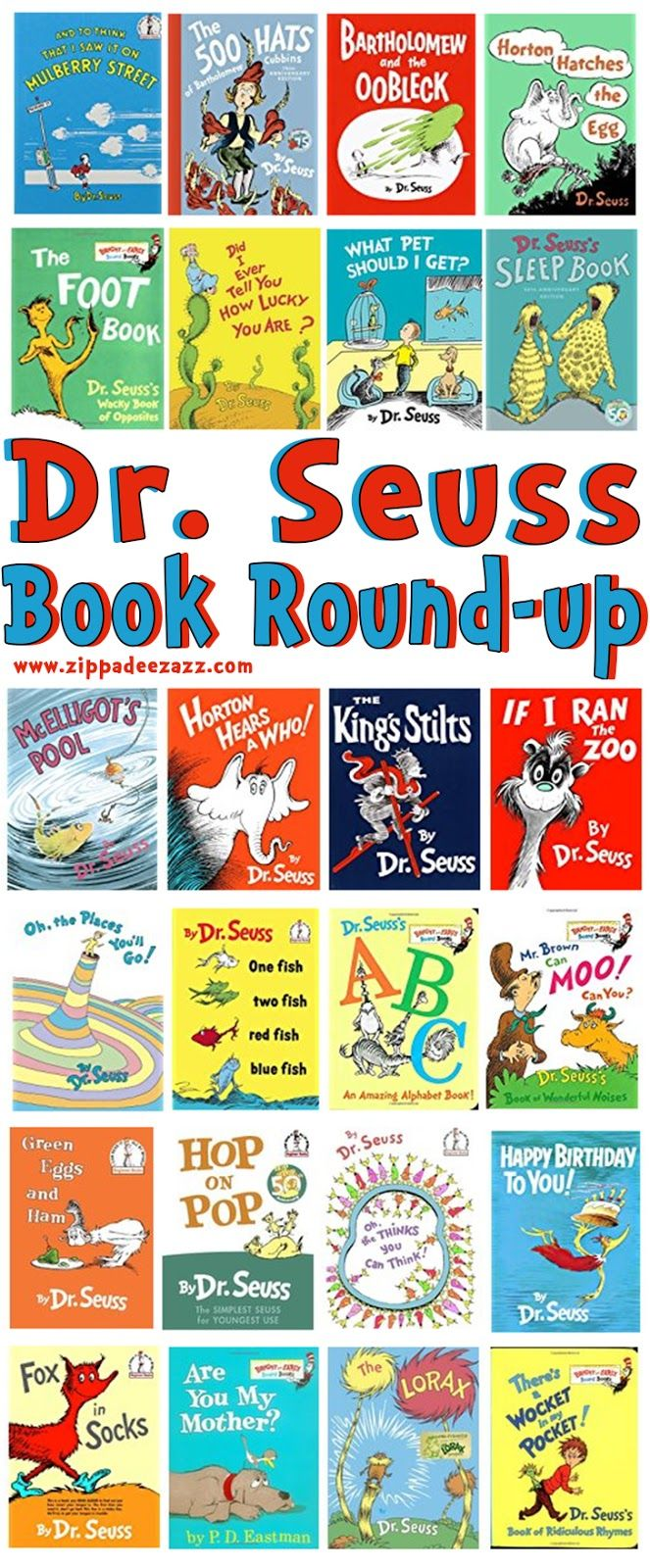 Dr Seuss Book Round-up