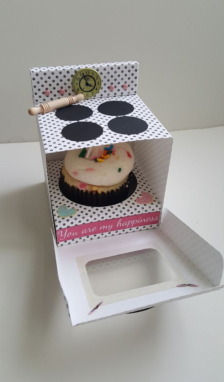 Let Them Eat Cake - Lolly's Embellishments & Cupcake Box