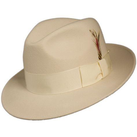 af59a6647c2 Mens Untouchable Hats-Fedora Hats Brim Hat
