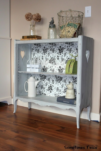 Bookshelf Furniture Repurposing Refinishing Ideas