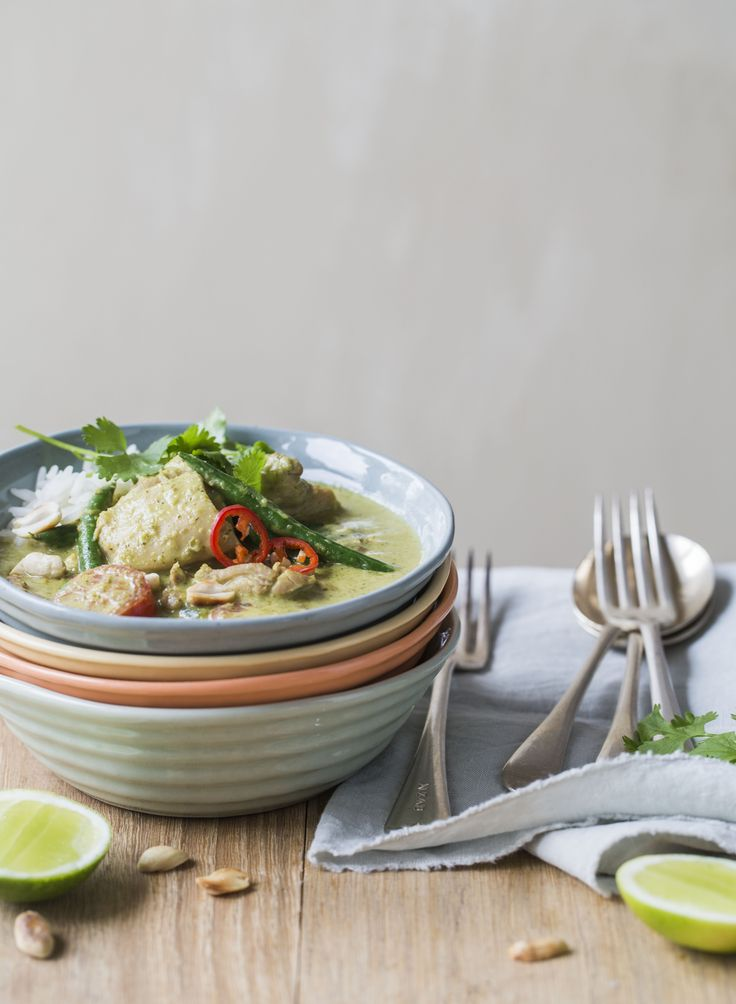Easy Thai green chicken curry recipe