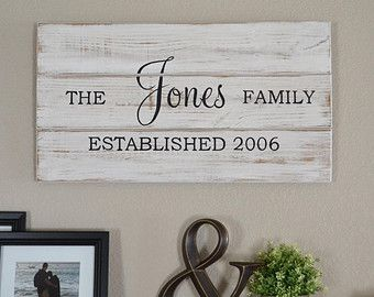 Personalized Wood Signs-Rustic Barn Wood Sign by TripleEDecor