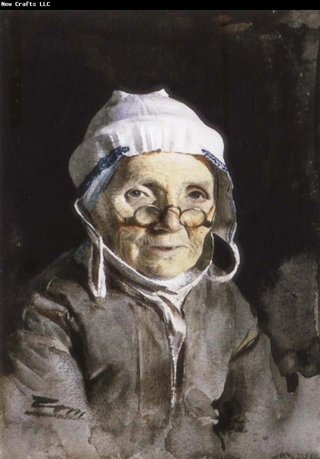 Grandmother by Anders Zorn