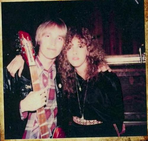 Tom Petty and Stevie when they were young and on the edge of super stardom ~ ☆♥❤♥☆ ~ https://www.pinterest.com/source/rockandrollballerina.tumblr.com/