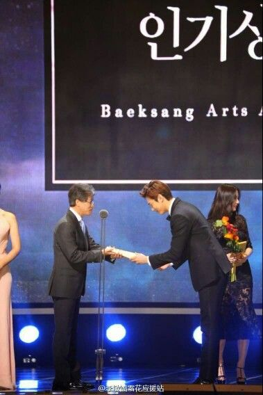 Lee min ho-Baeksang Arts Award - Event - 25.05.2015