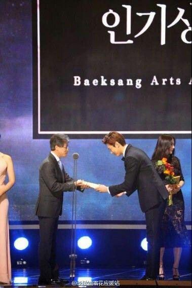 Lee min ho-Baeksang Arts Award - Event - 25.05.2015