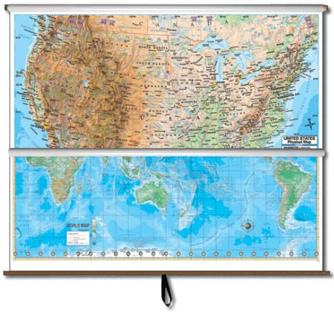Best Maps USA Images On Pinterest Wall Maps Free Shipping - Best us wall map