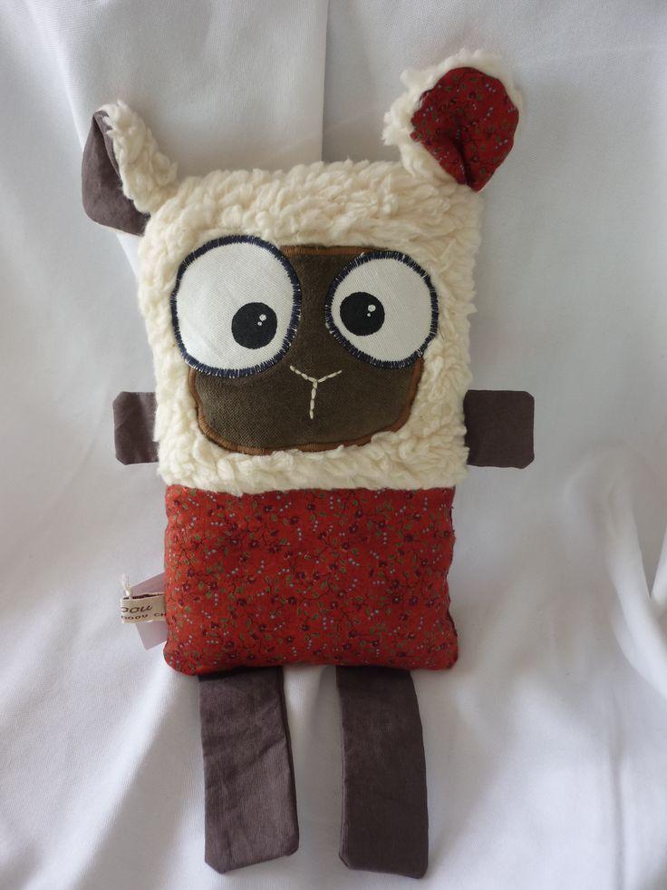Doudou mouton (pas de tuto, juste la photo pour l'inspi) http://amzn.to/2nK8lcv