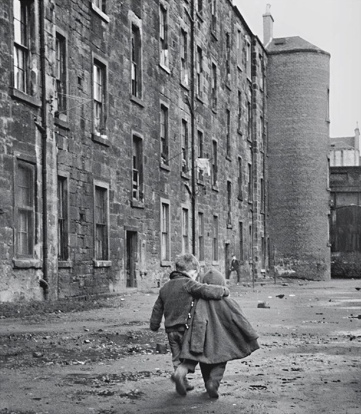 David Peat - A Comforting Arm    Glasgow, Scotland, England, 1968.