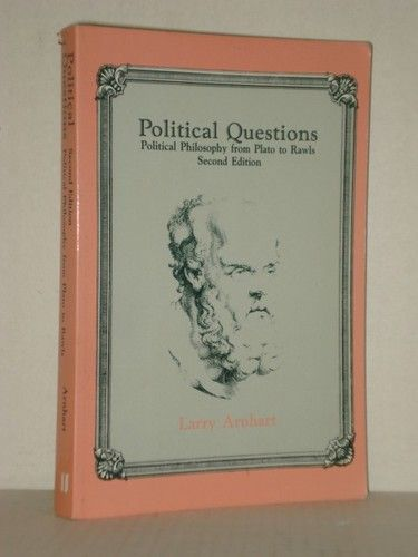 Used Book; Political Questions, Political Philosophy from Plato to Rawls at fah451bks.com new and used books