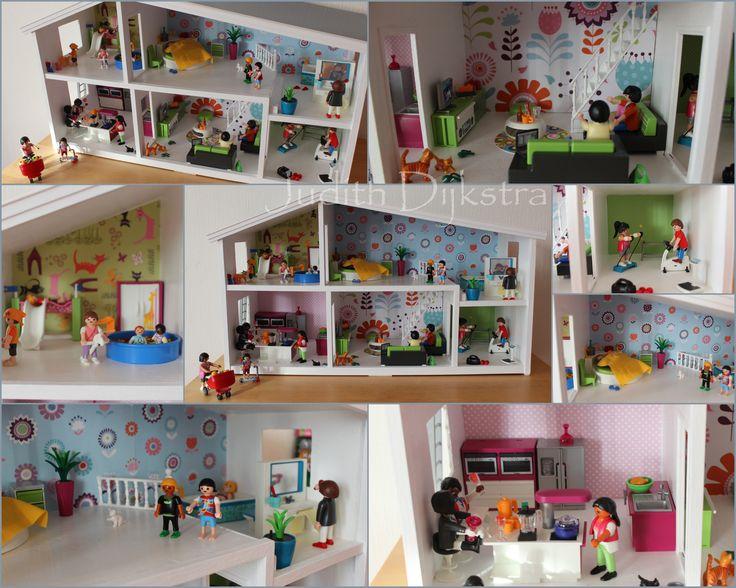 11 best dollhouse images on pinterest doll houses for Poppenhuis poppetjes