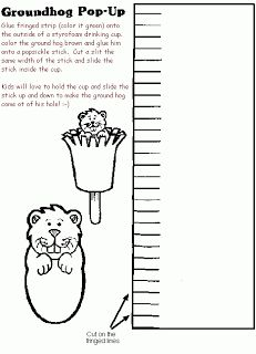 Mrs. Jackson's Class Website Blog: Groundhog Day Crafts-Snacks-Activities-Lessons