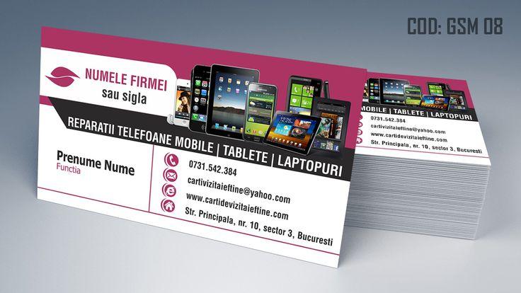 carti de vizita reparatii telefoane, tablete, iphone, samsung, service gsm, phone service business cards templates