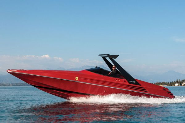 1990 Riva Ferrari 32, A Rare, Limited-Edition Speedboat | Baxtton