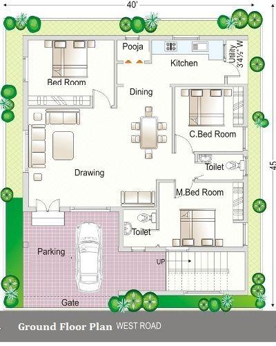 35x60 house plans