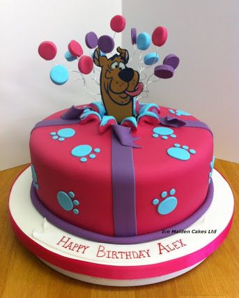 Scooby Cake Topper