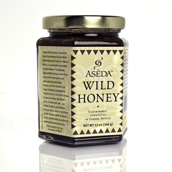 Honey From A Wild & Protected Forest Ecosystem