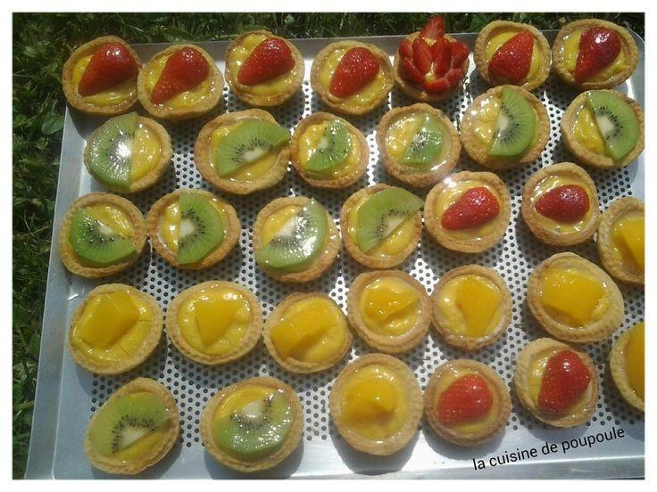 Farandole de mini-tartelettes aux fruits au thermomix
