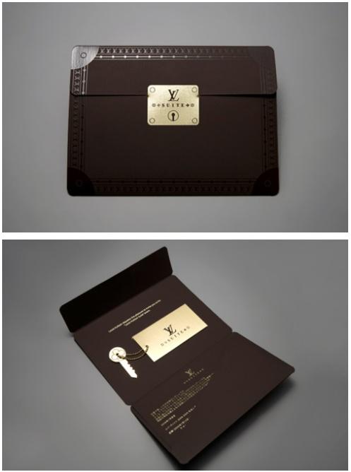 Louis Vuitton Invite | Julien Mercier | http://www.julmeme.com